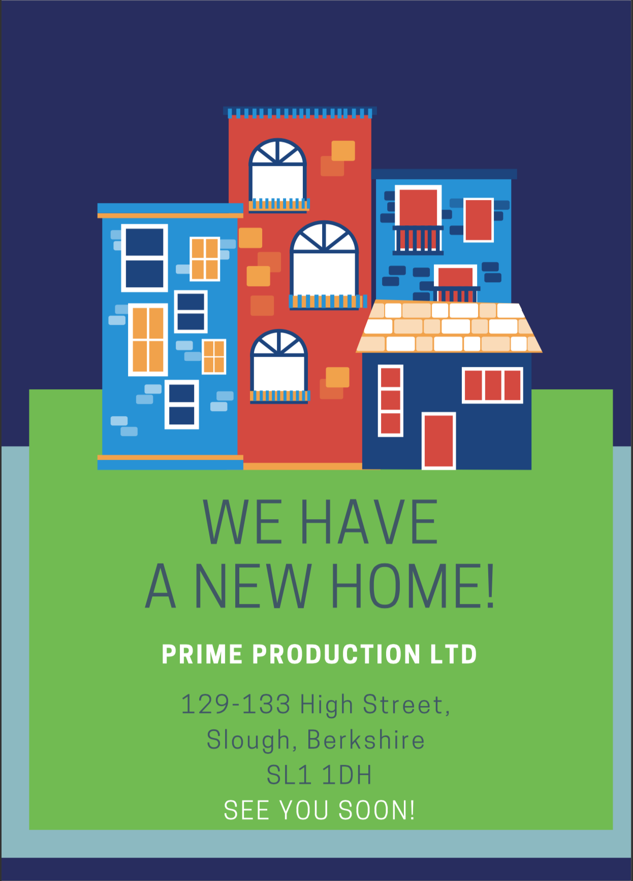 Prime Production Ltd - WE HAVE MOVED
