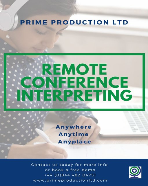 Remote Conference Interpreting
