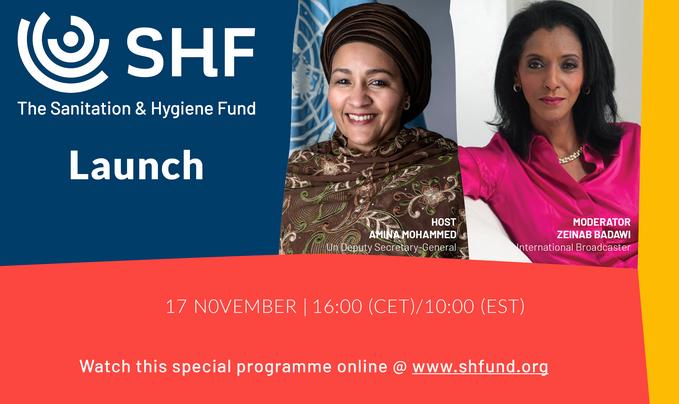 SHF Launch invite