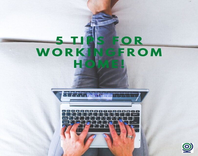 Prime Production - 5 Tips For Working From Home